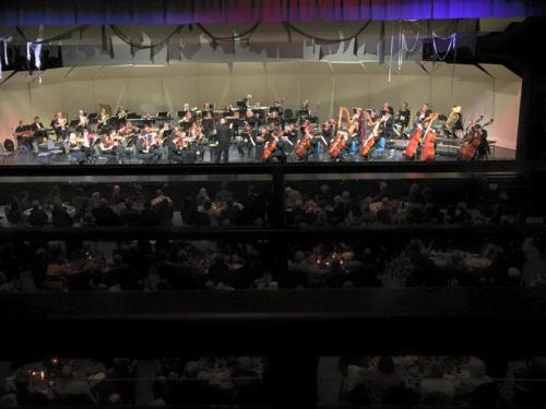 Performing with the Jackson Symphony of Jackson, Tennnessee.